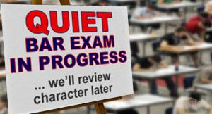 Passing the bar exam isn't enough